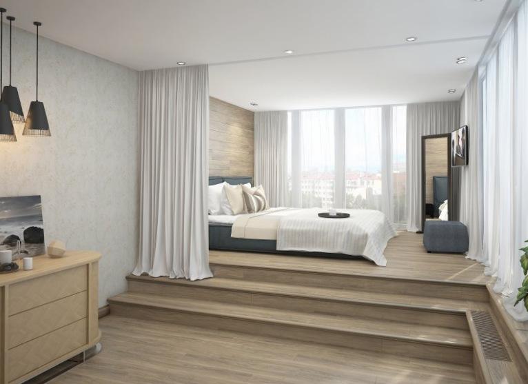 Чем полезен подиум в квартире?